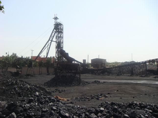 生产现场-神木县大柳塔镇考考赖沟煤矿